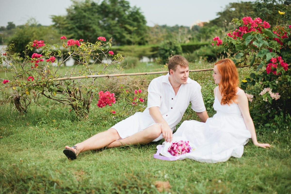 Wedding ceremony in Thailand