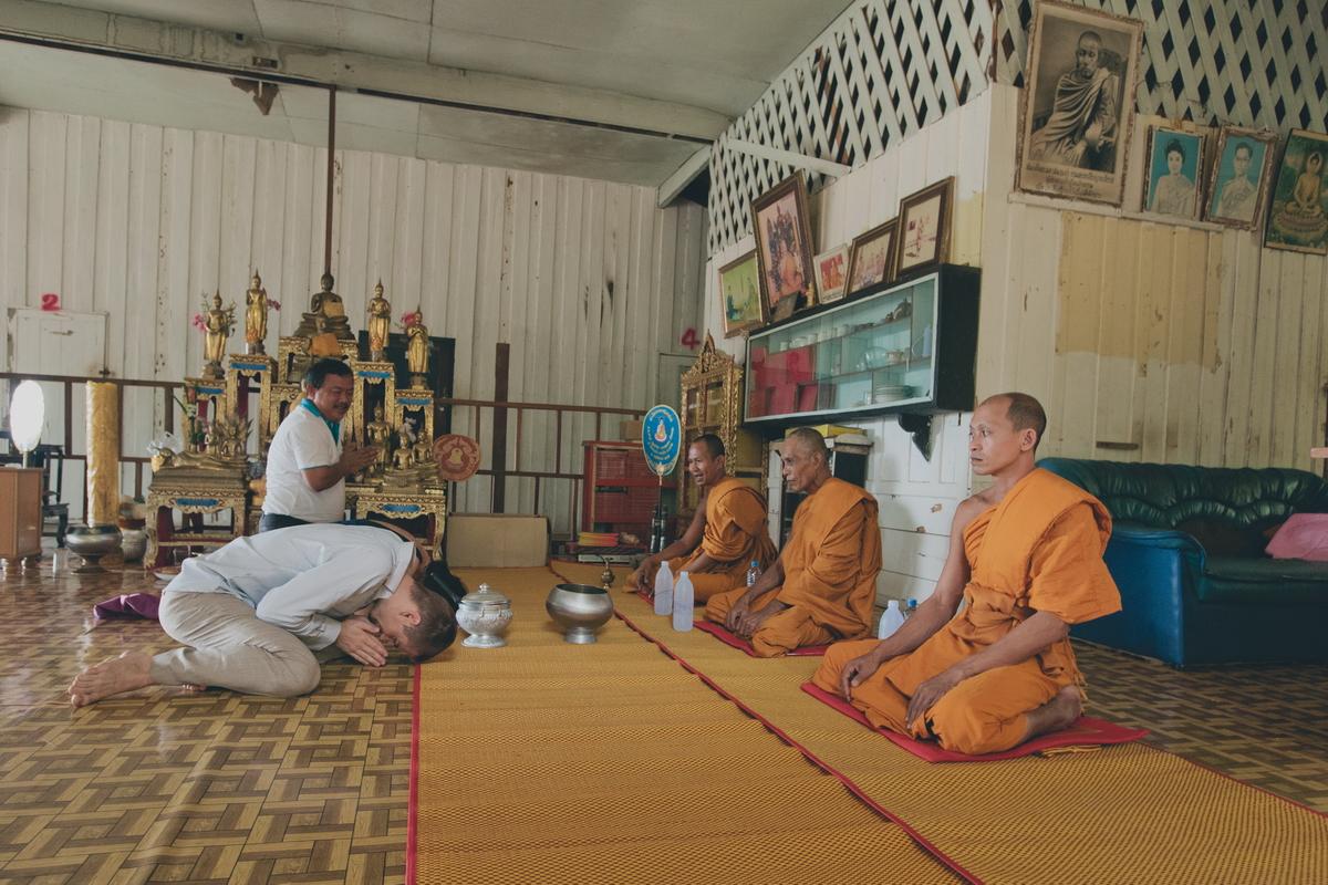Buddist thai wedding on Koh Chang (11)