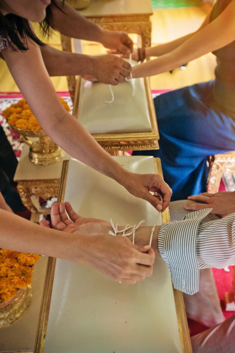Buddist thai wedding on Koh Chang (16)