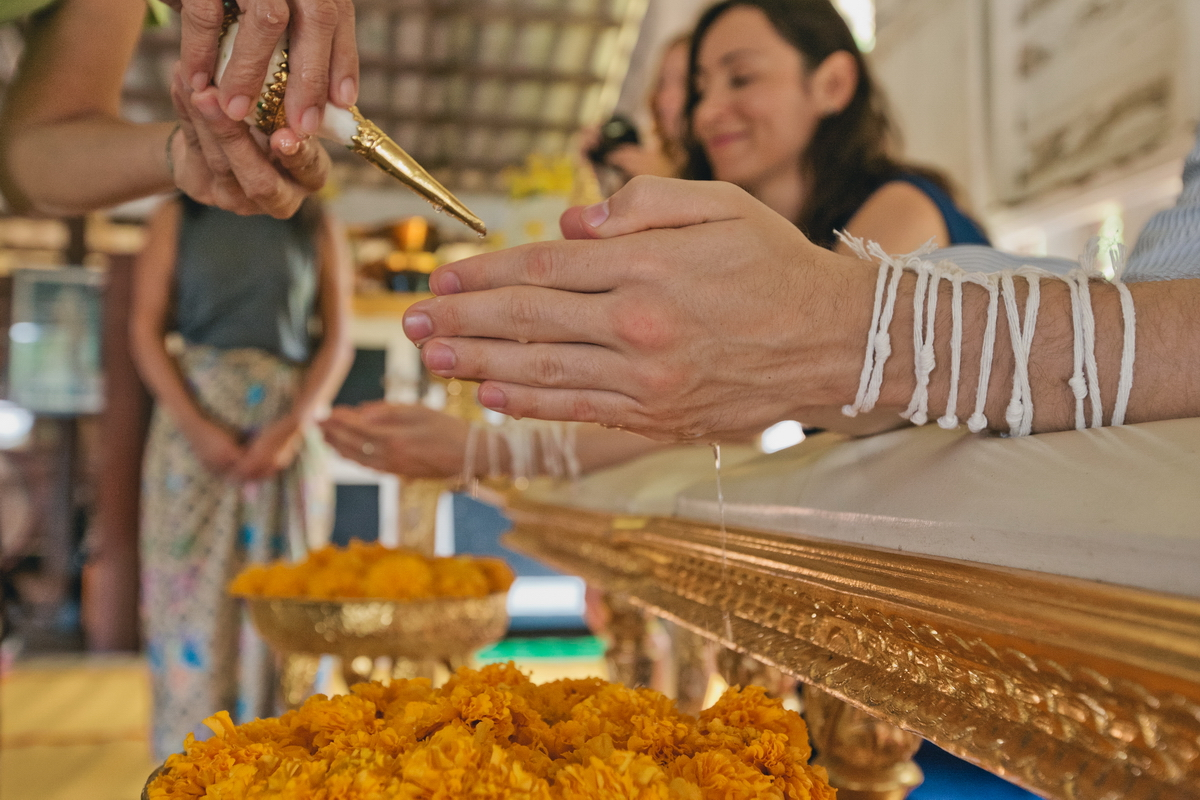 Buddist thai wedding on Koh Chang (17)