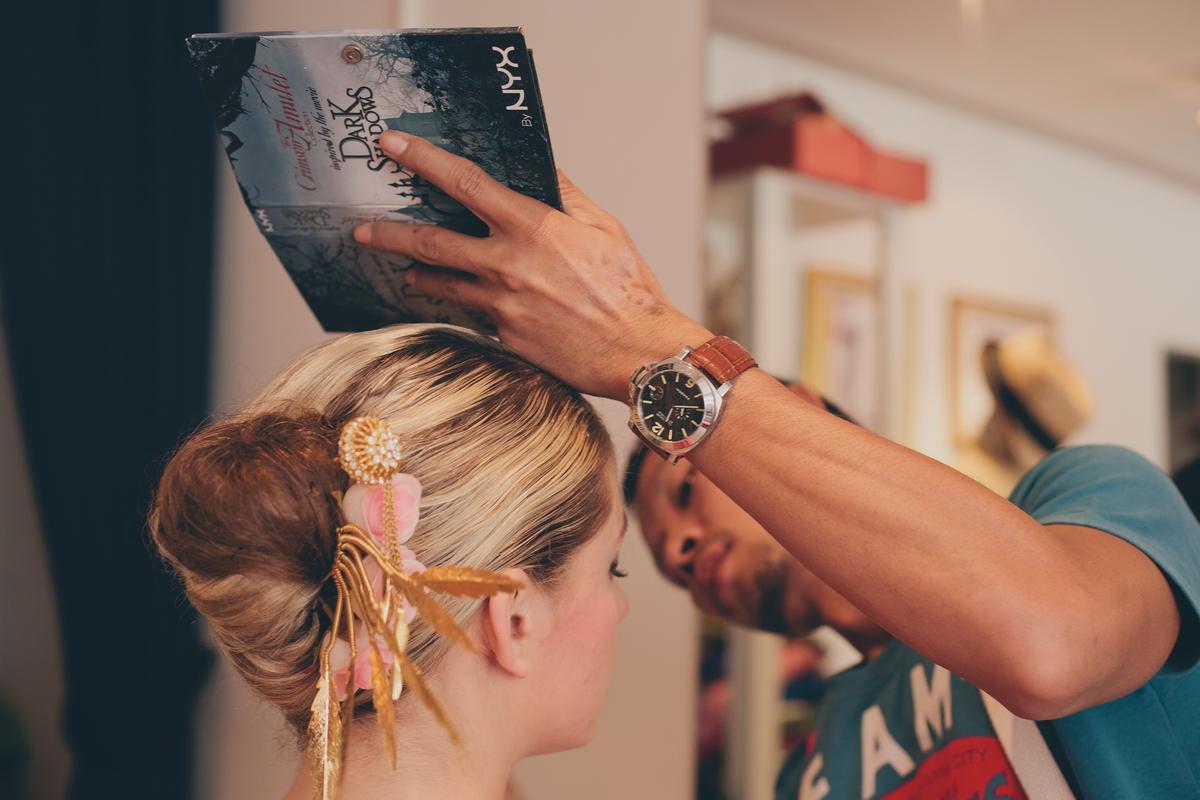 Thai makeup artist