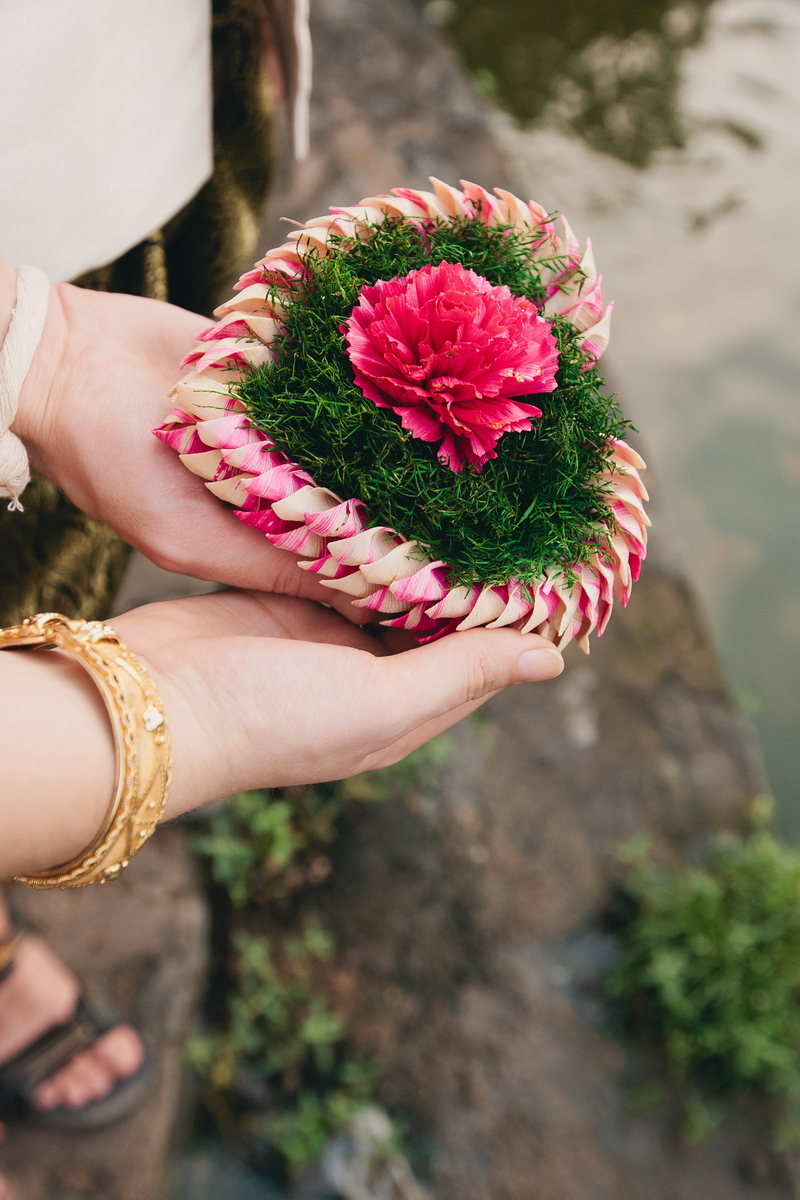 Ship for good luck in Thai wedding ceremony
