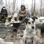 Life in a dump of Russia