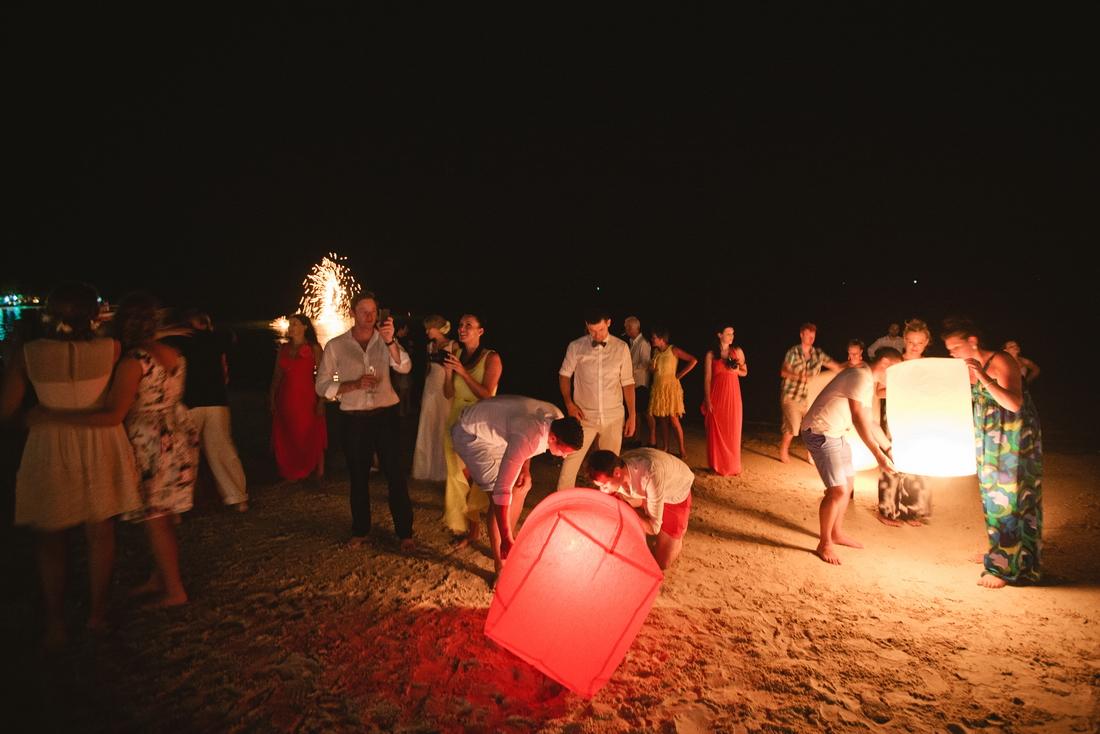 Lucky Balloon wedding at Seera
