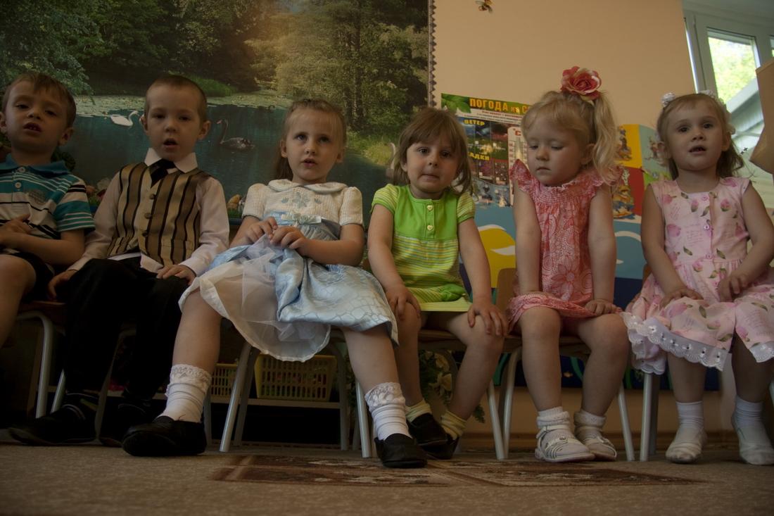 Communication of Russian children
