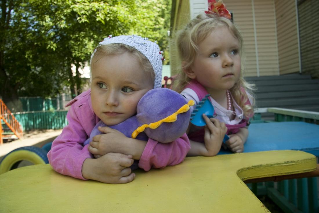 Playground in kindergarten