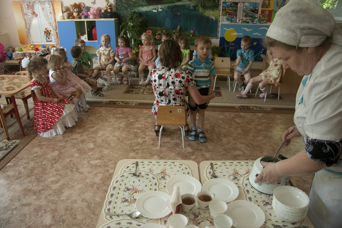 Children in Russian kindergarten (9)
