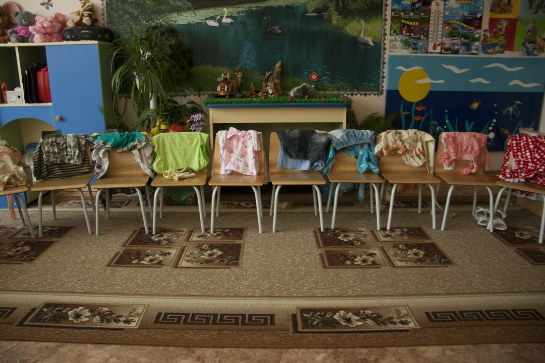 Children in Russian kindergarten (1)