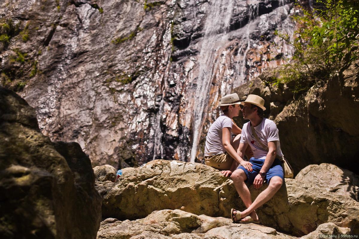 Thailand Waterfall on Koh Samui