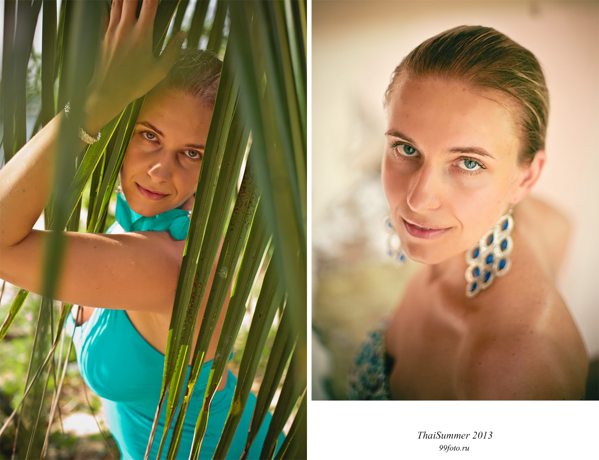 Russian model Thailand