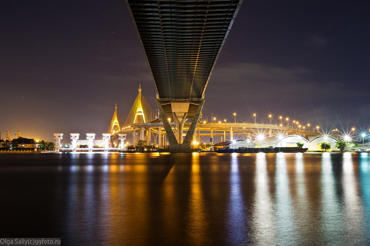 industrial ring road bridge bangkok