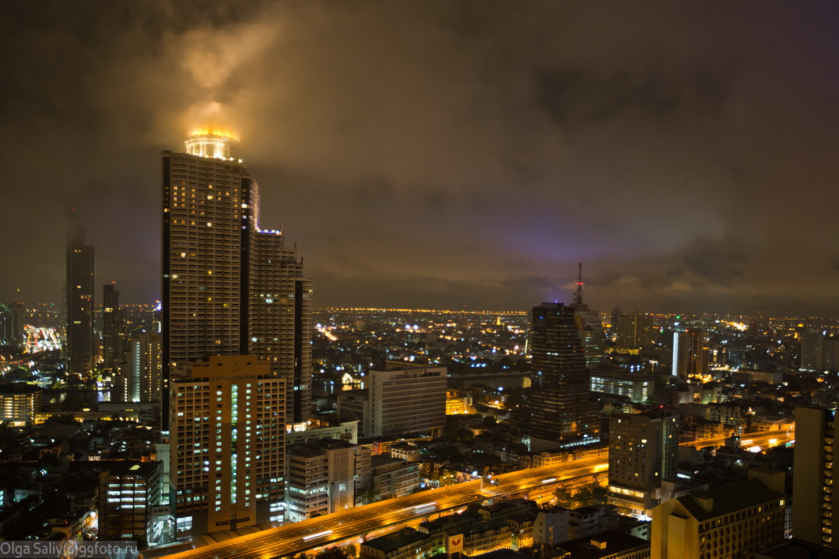 Bangkok Lebua night photos