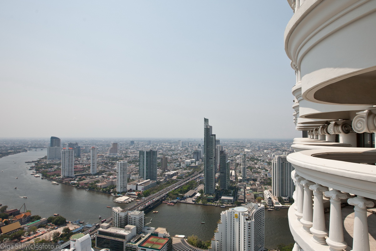 Bangkok view from Lebua