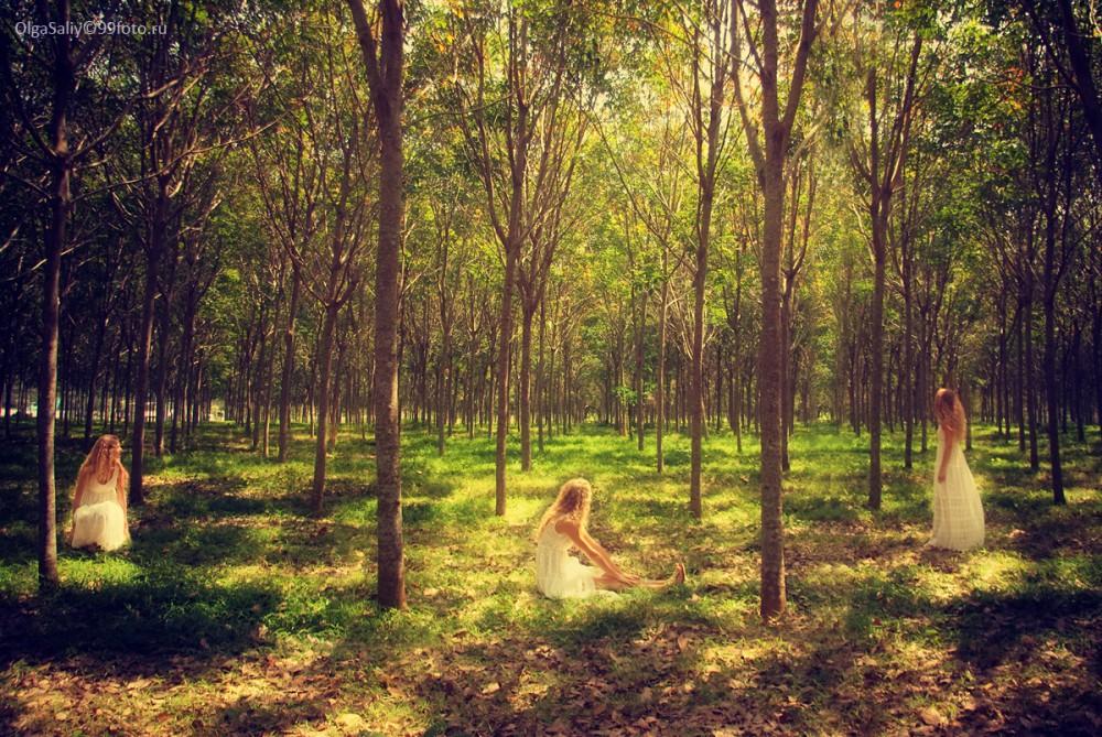 Thailand photography Alice in wonderland