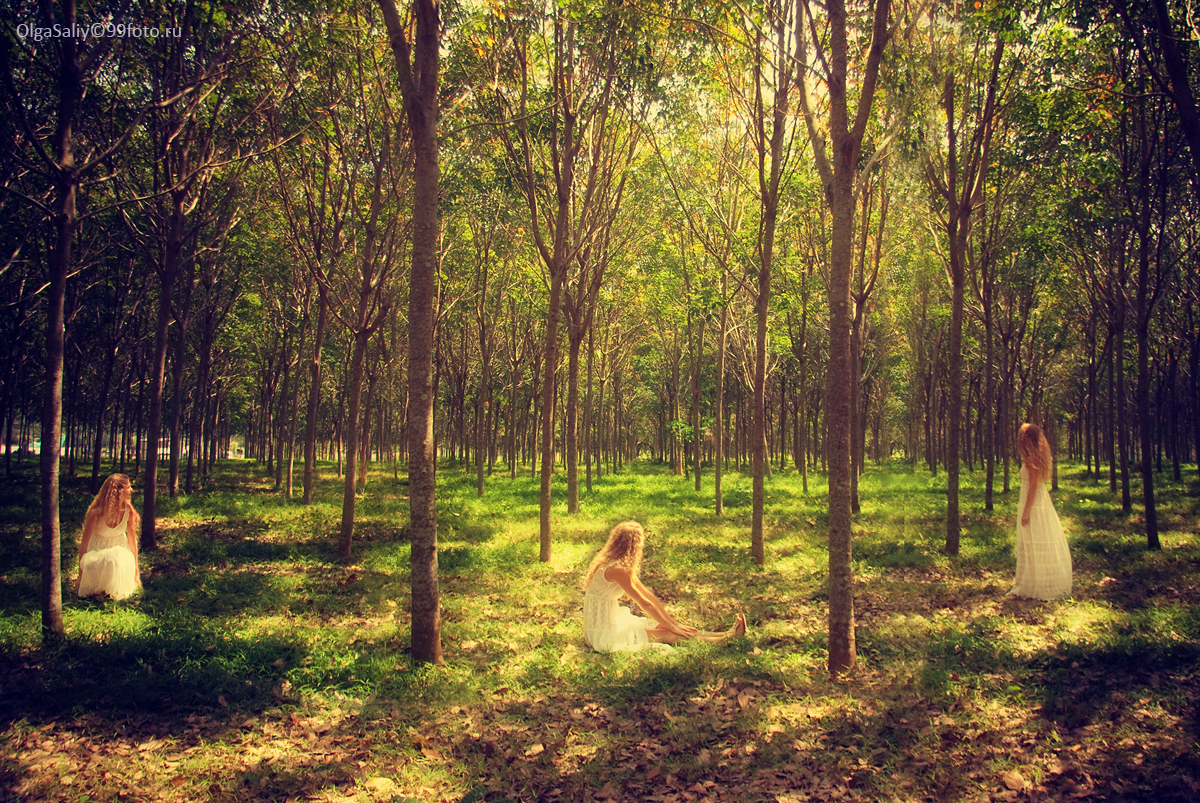Thailand photography Alice in wonderland