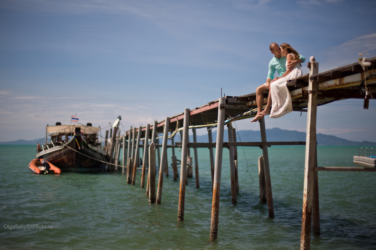 Bridge on Fisherman Village, Koh Samui