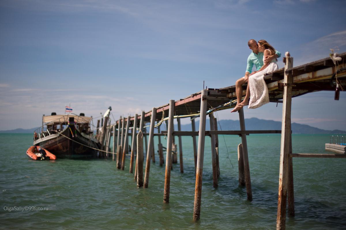 Bridge on Fisherman Village, Koh Samui