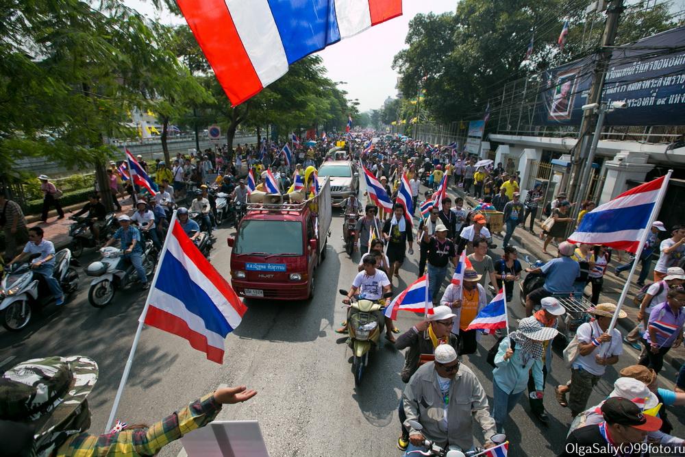 Revolution in Bangkok 2013 december