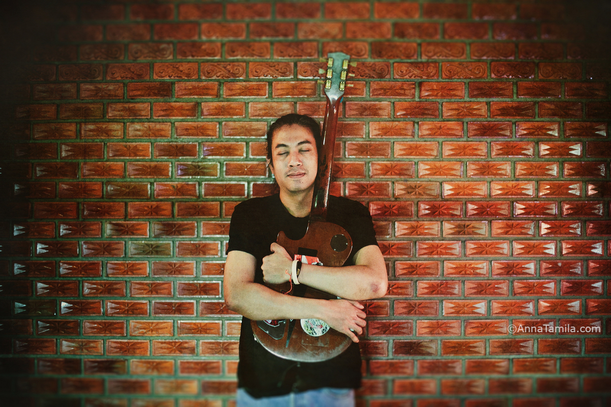 Pla gitarist in Pattaya