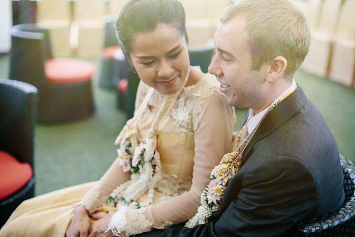 Thai american wedding