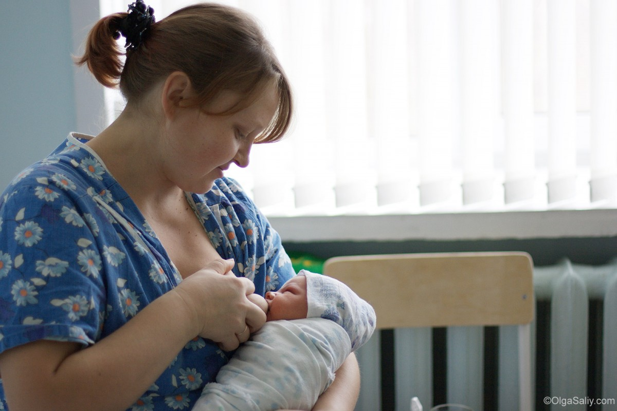 Breastfeeding in hospital
