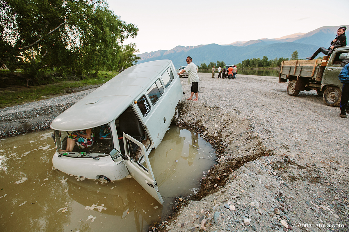 offroad in Russia