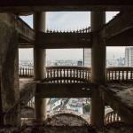 The highest abandoned skyscraper Bangkok gost tower Sathorn Unique