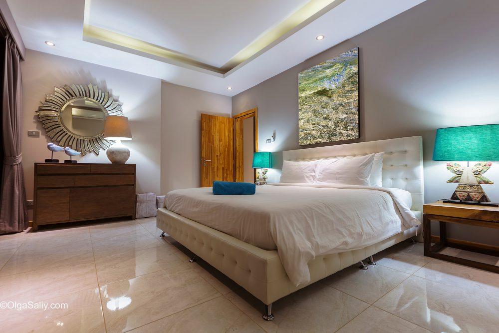 Interior professional photography luxury villa