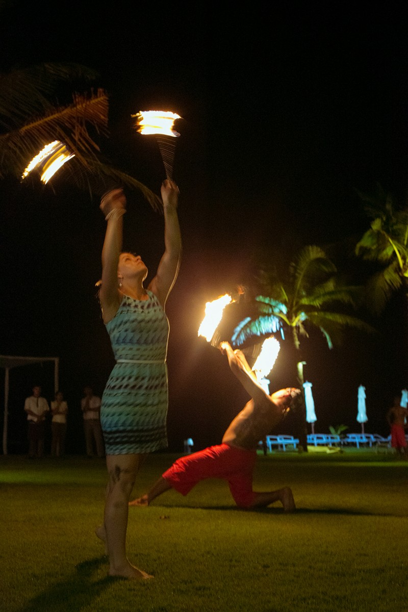Fire show in KhaoLak