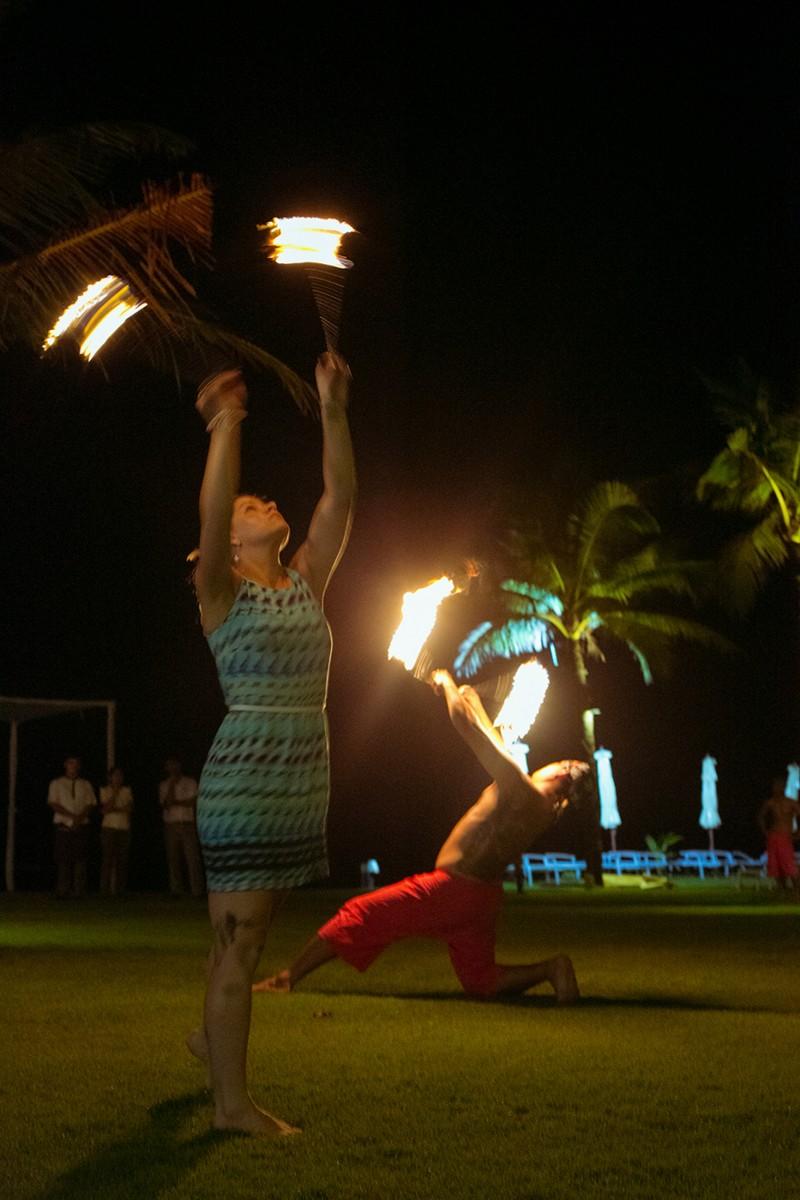Fire show in KhaoLak