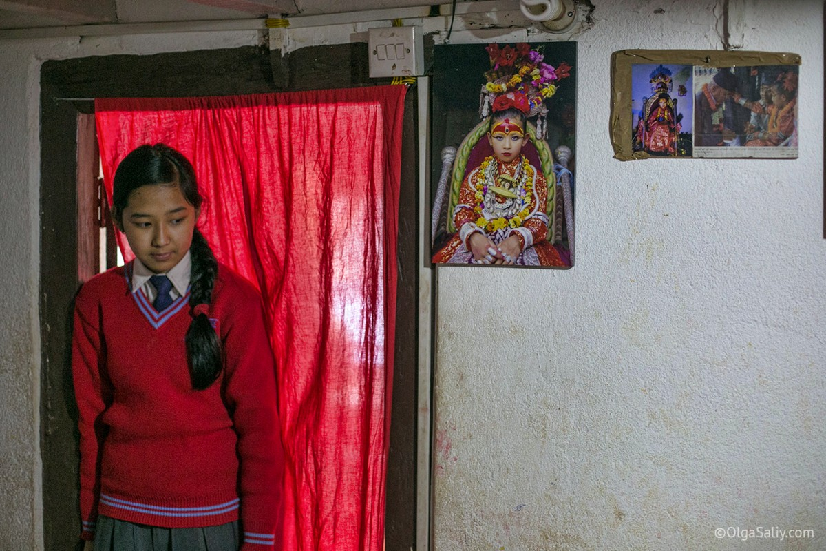 Life of Kumari in Nepal (20)