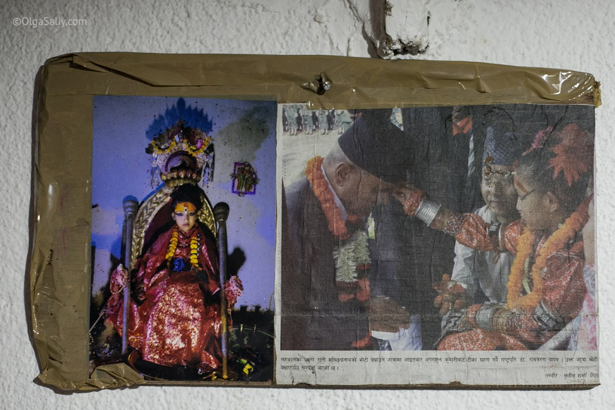Life of Kumari in Nepal (16)