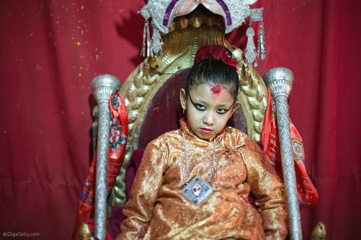 Life of Kumari in Nepal (11)