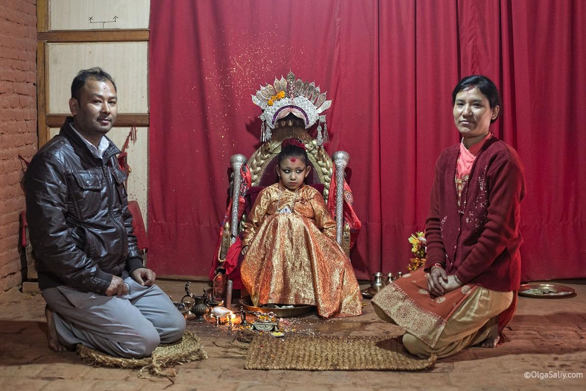 Life of Kumari in Nepal (9)