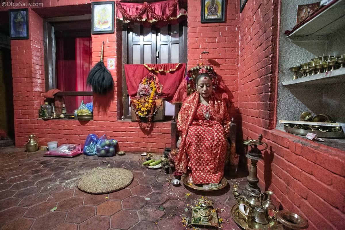 Life of Kumari in Nepal (2)