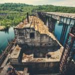 Abandoned Krapivinskaya Dam (Russia)