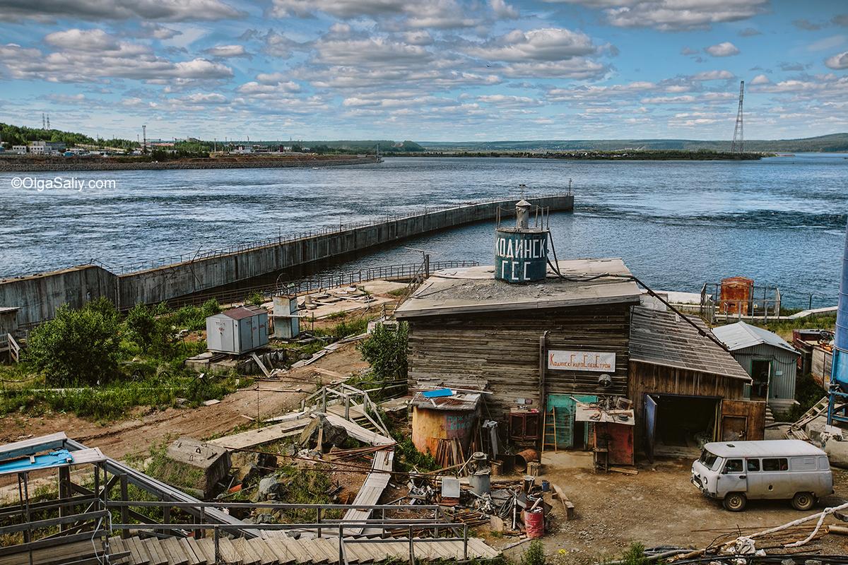 Boguchany hydroelectric dam