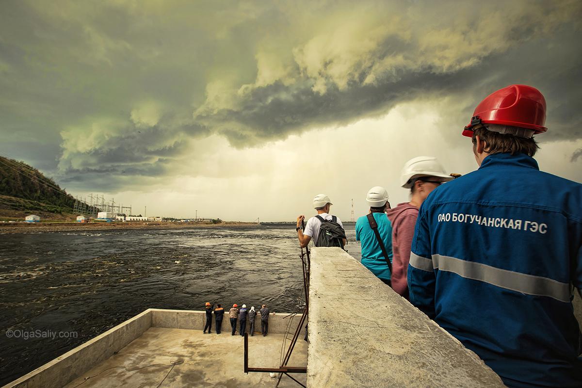 Boguchany hydroelectric dam on Angara River in Russia (46)