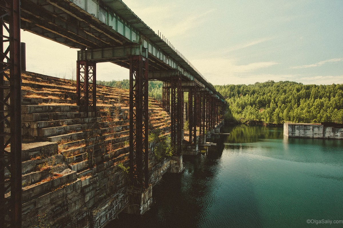 Abandoned Hydroelectricity Dam in Russia (21)