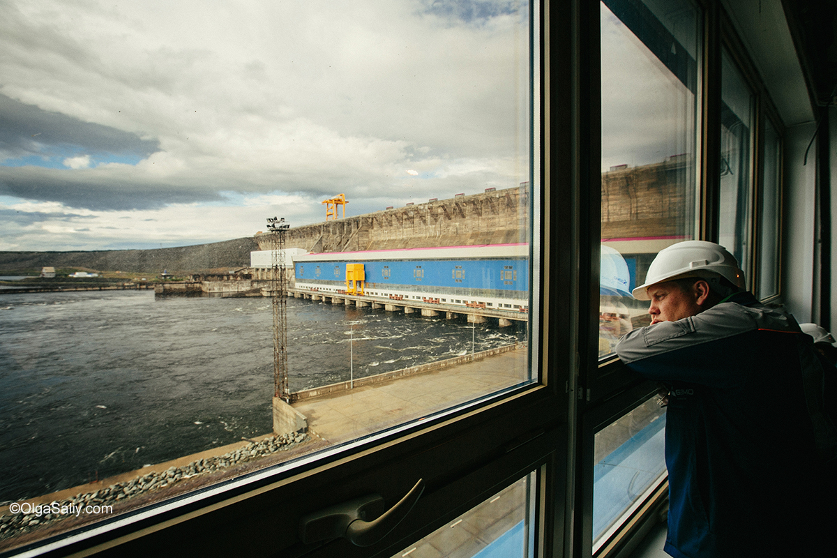 Boguchany hydroelectric dam on Angara River in Russia (36)