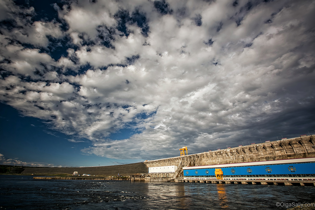 Boguchany dam on Angara in Russia (34)