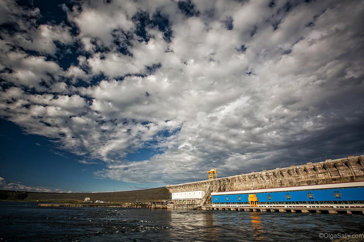 Boguchany dam on Angara in Russia (34)