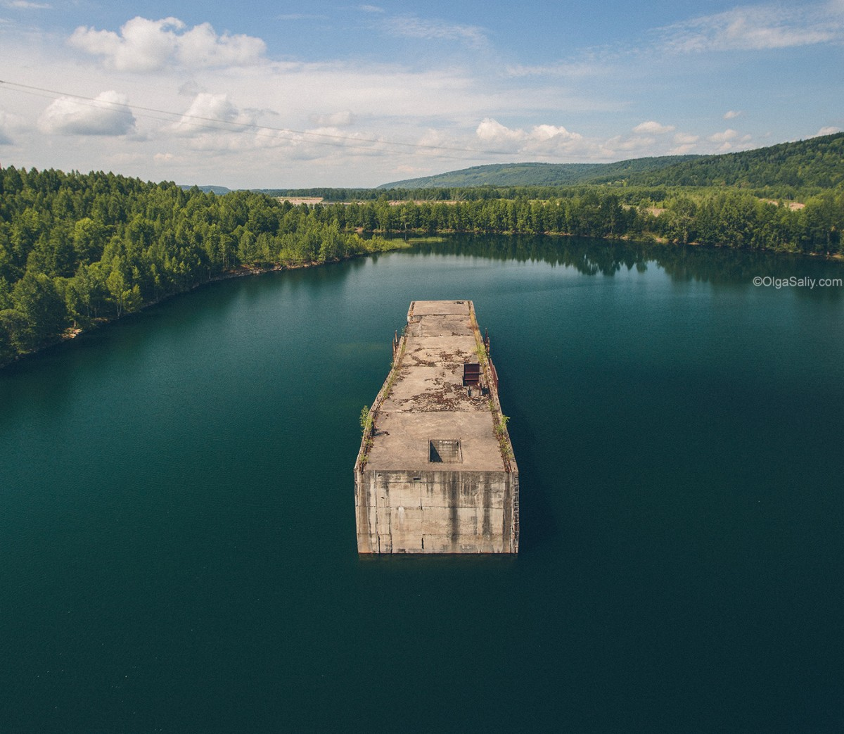 Abandoned Hydroelectricity Dam in Russia (3)