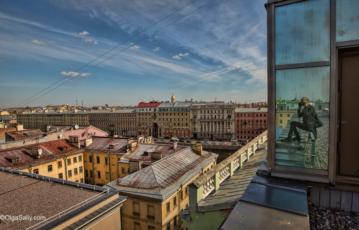 Saint Petersburg, On the roof