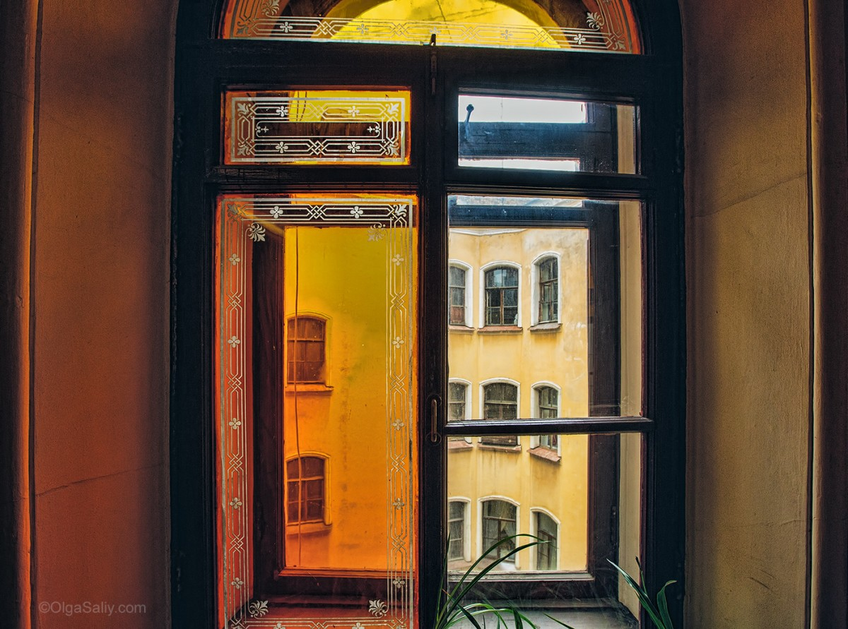 Saint Petersburg window