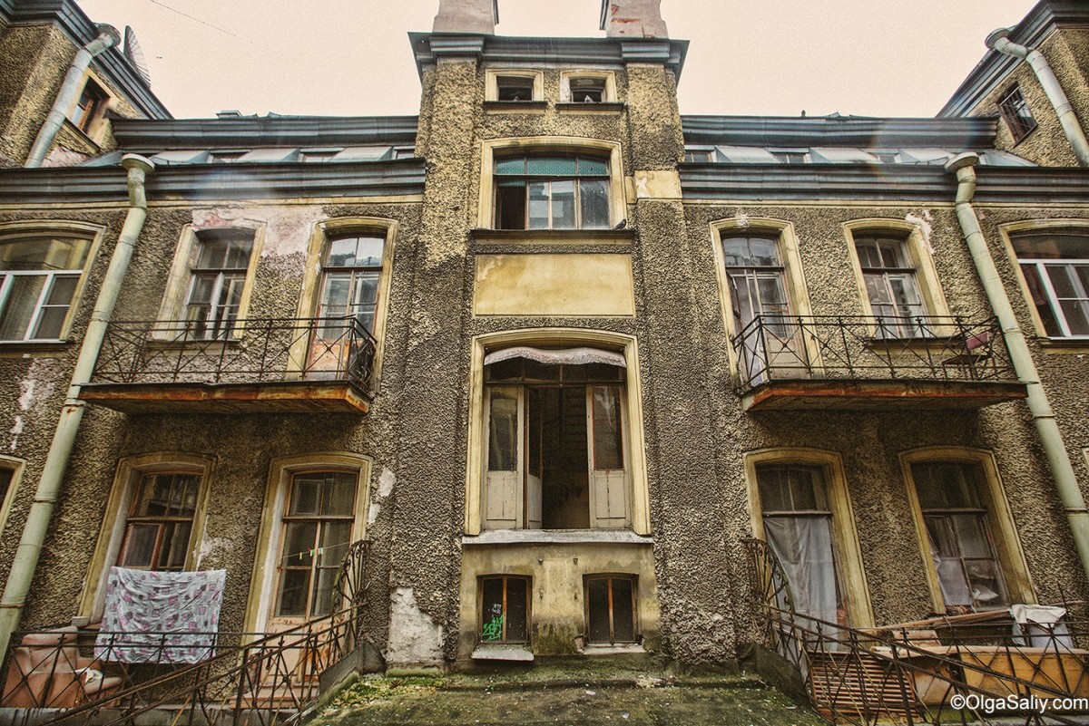 Old house in St. Petersburg