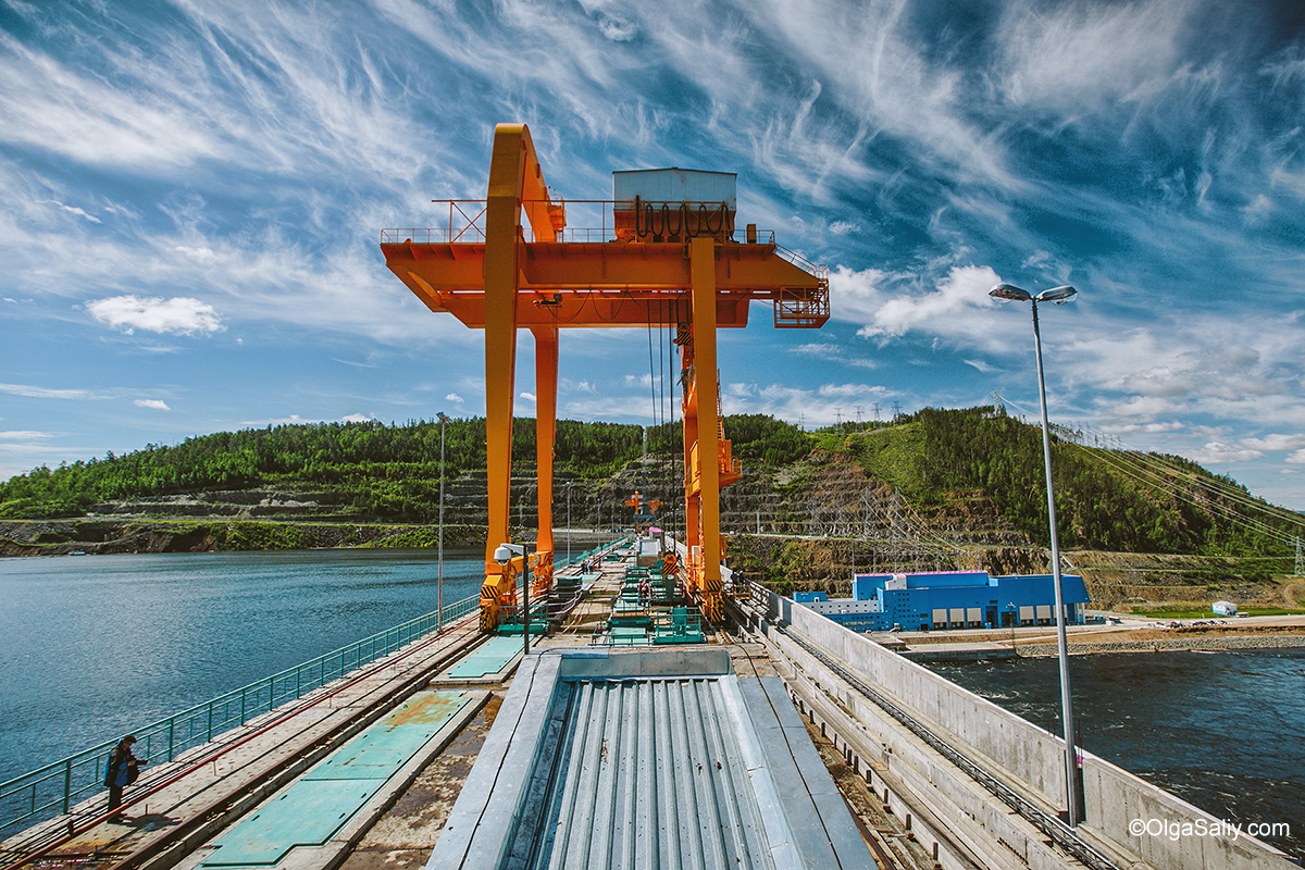 Boguchany hydroelectric dam on Angara River in Russia (27)