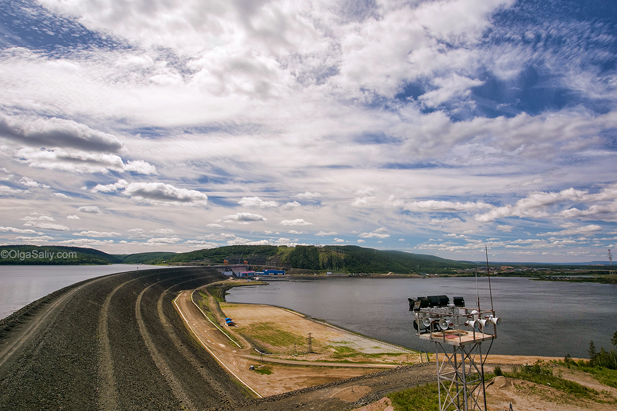 Boguchany hydroelectric dam on Angara River in Russia (26)