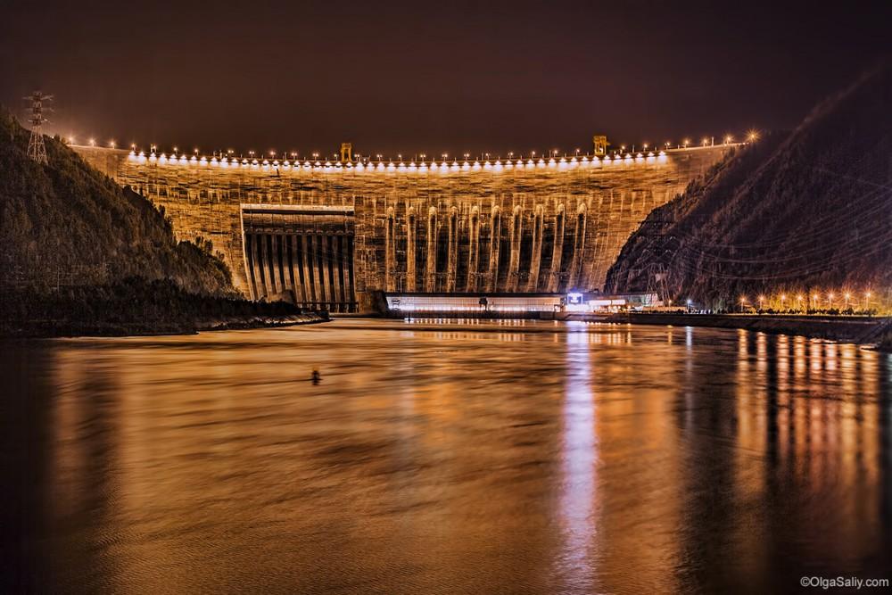 Sayano–Shushenskaya hydro power plant
