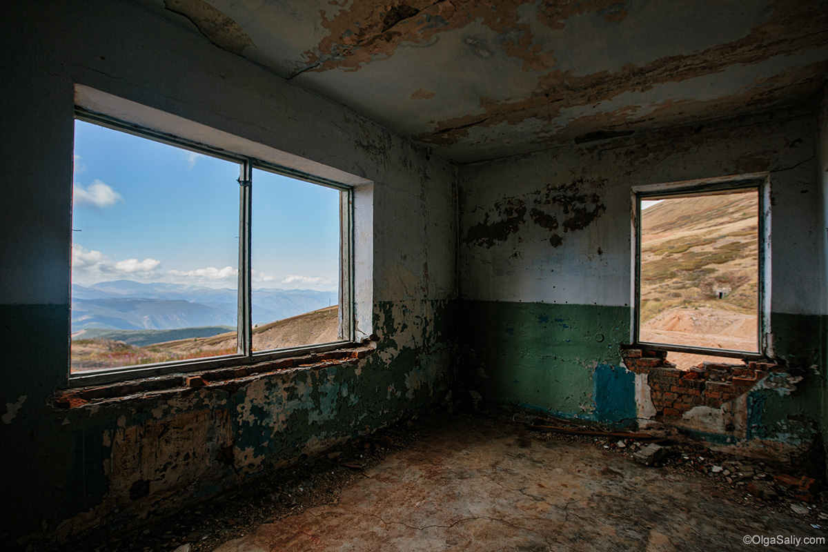 Abandoned Windows in Altai